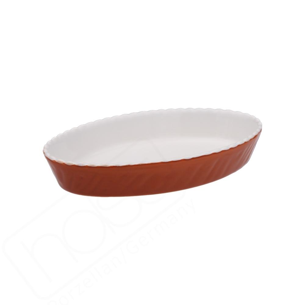 "Auflauf- & Backform oval 22 x 14 cm ""Marrone"""