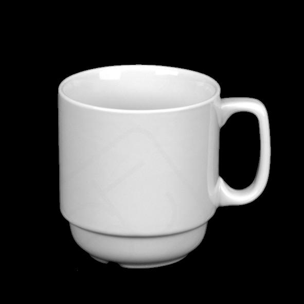 """Kaffeebecher 0,29 l """"Manfred"""" stapelbar"""