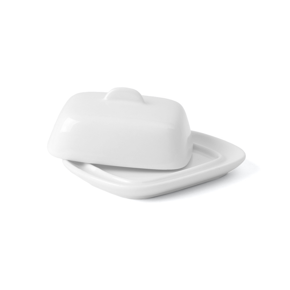 Miniature butter dish with lid 10 cm
