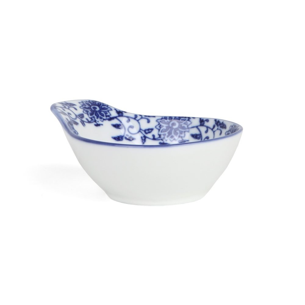 "Beilagenschale 13 x 11 cm ""Qing Hua Ci"""