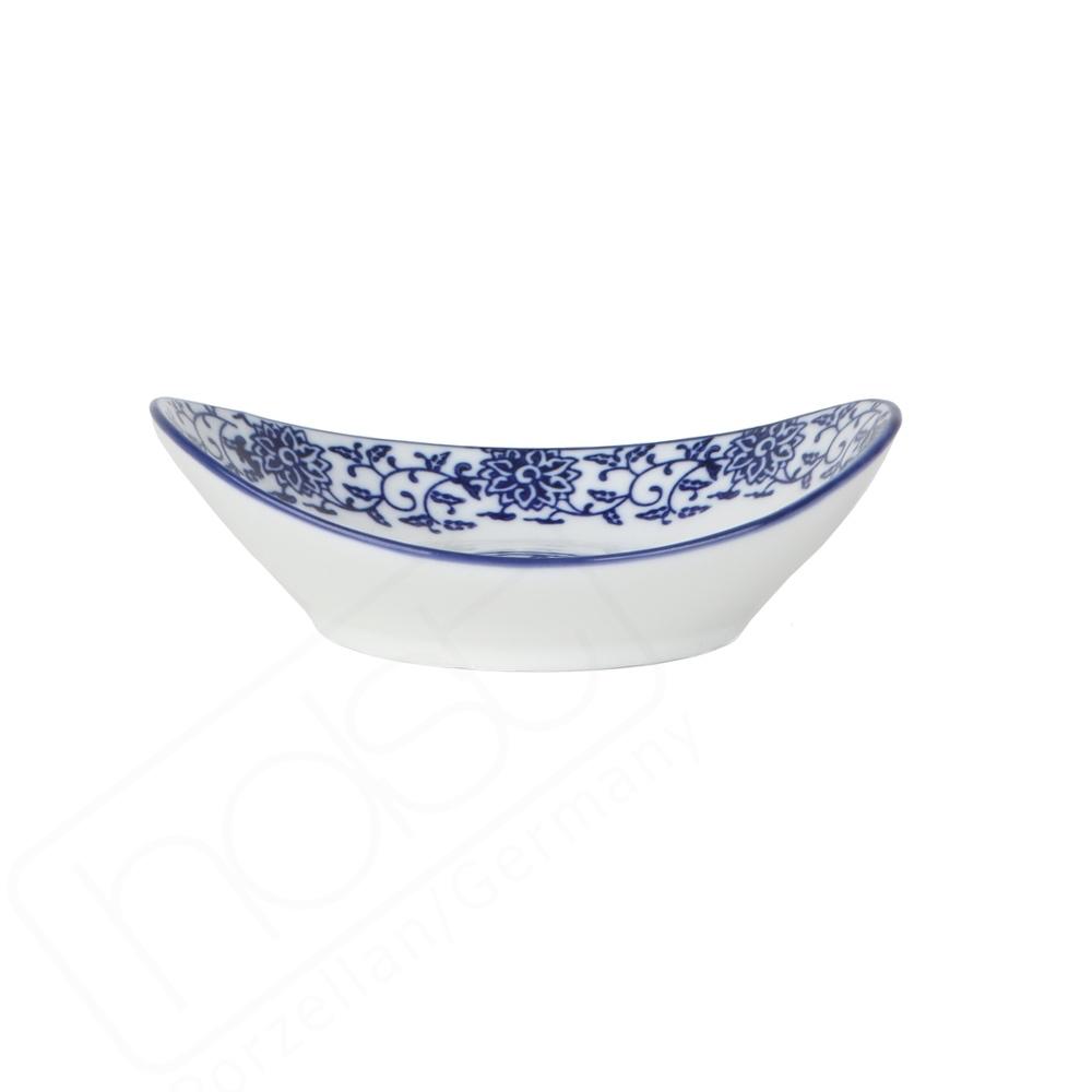 "Vorspeisenschale 14 x 11 cm oval ""Qing Hua Ci"""