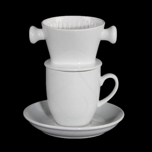 Kaffee Zubereitungs- und Servierset 3-tlg.