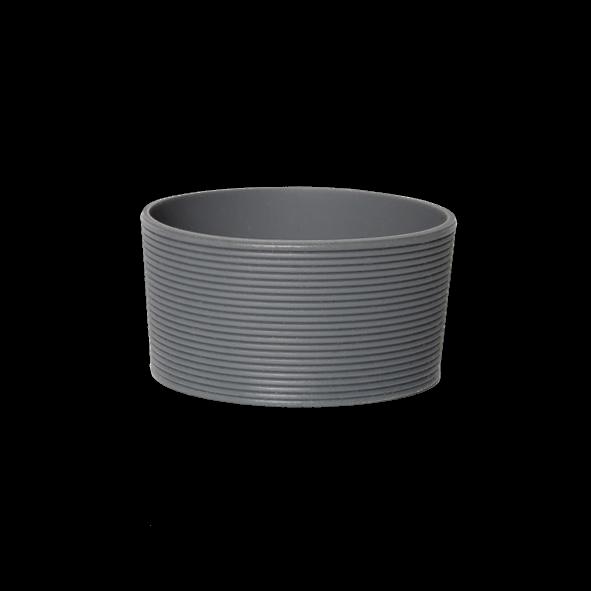 Silikonbanderole grau für Becher 0,20 l
