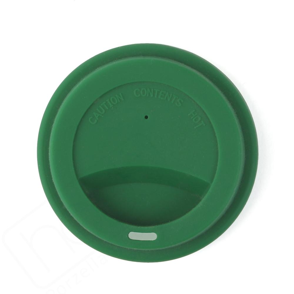 Silkondeckel grün für Becher 0,30 l