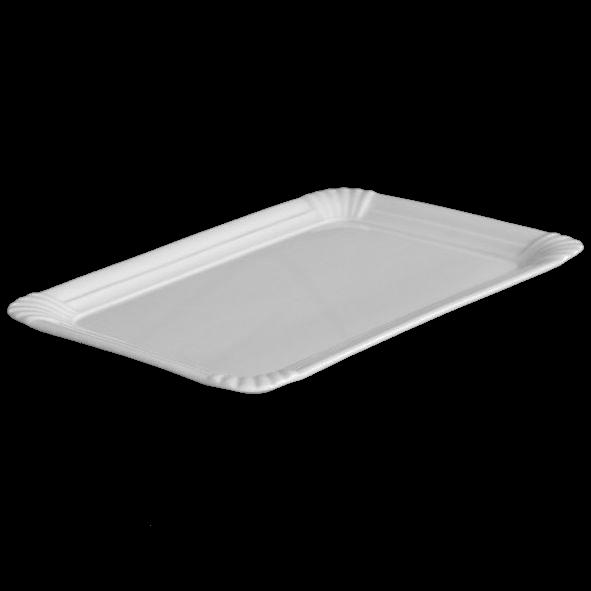 """Rechteckplatte 25 x 18 cm Pappoptik """"Snack Line"""""""