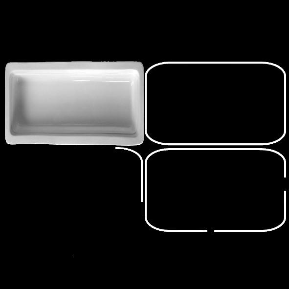 Gastronorm GN-Schale 65 mm GN 1/4