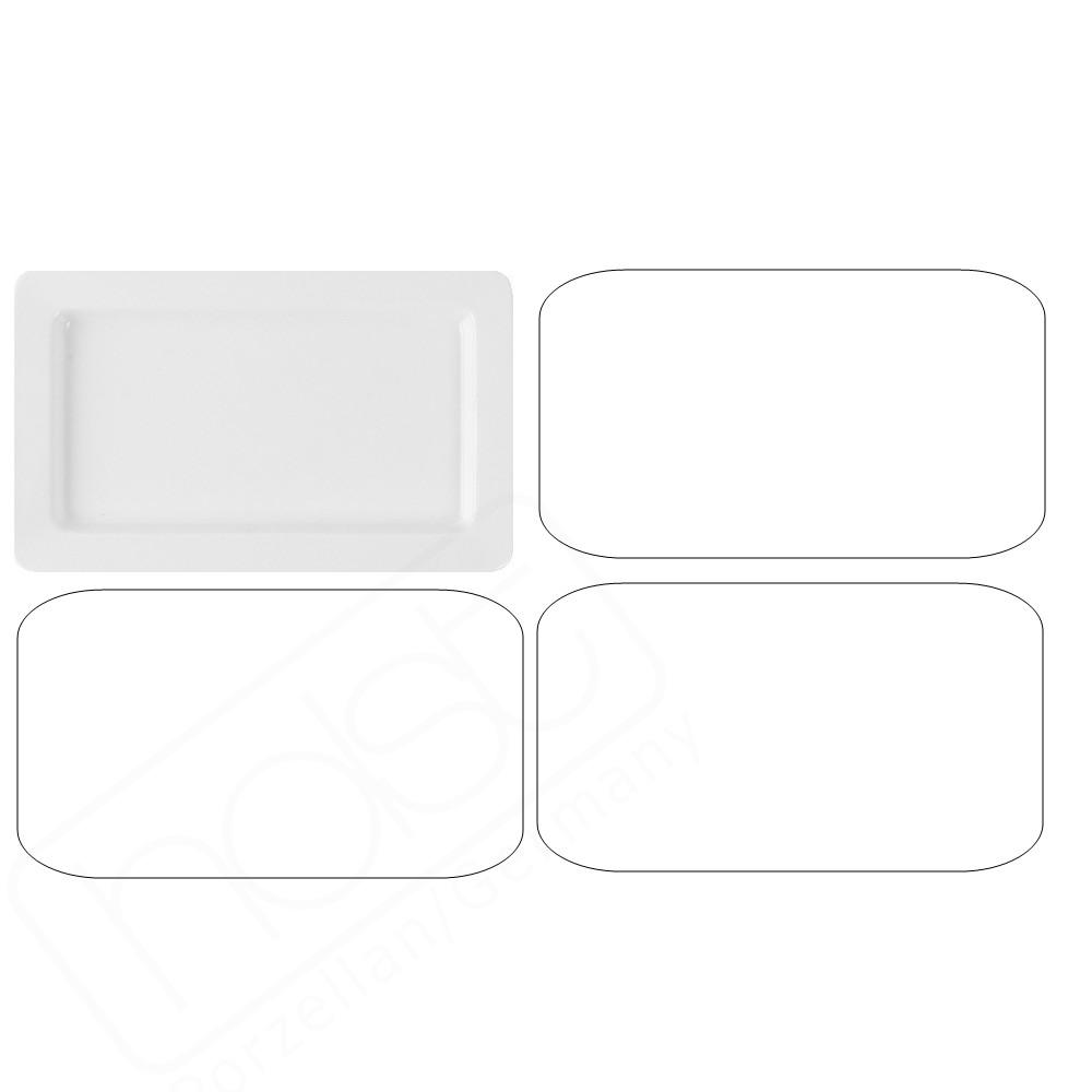 Gastronorm GN-Platte 20 mm GN 1/4