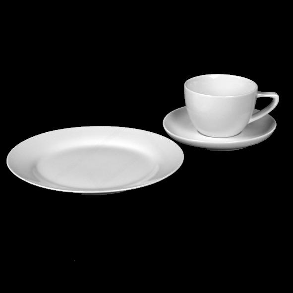 """Kaffeegedeck """"ConForm N"""" & """"Basic"""" 3-tlg."""