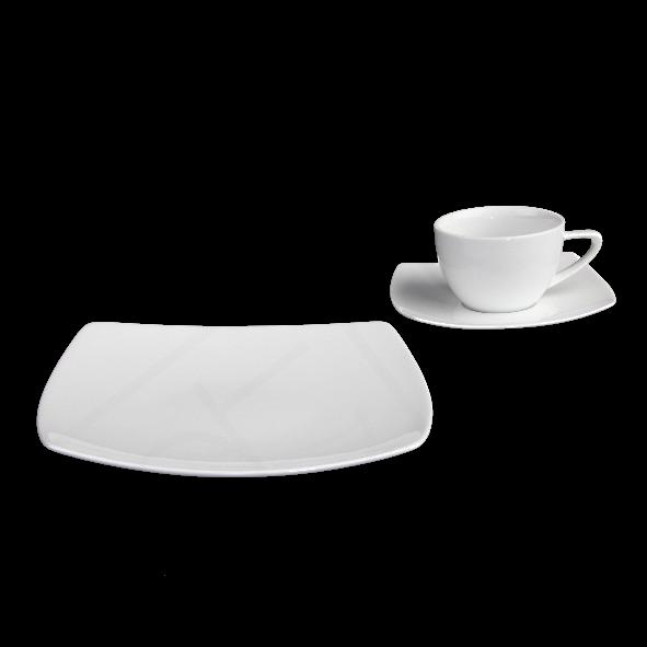 """Kaffeegedeck """"ConForm N"""" & """"Fine Dining"""" 3-tlg."""