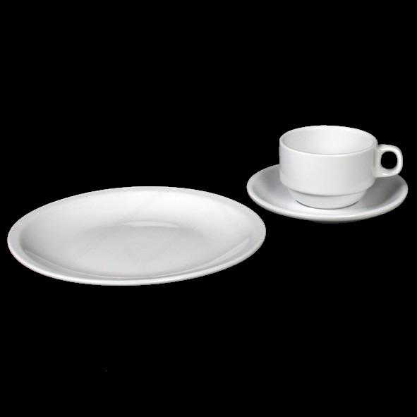 """Kaffeegedeck """"Catering"""" & """"Katja"""" 3-tlg. (**)"""