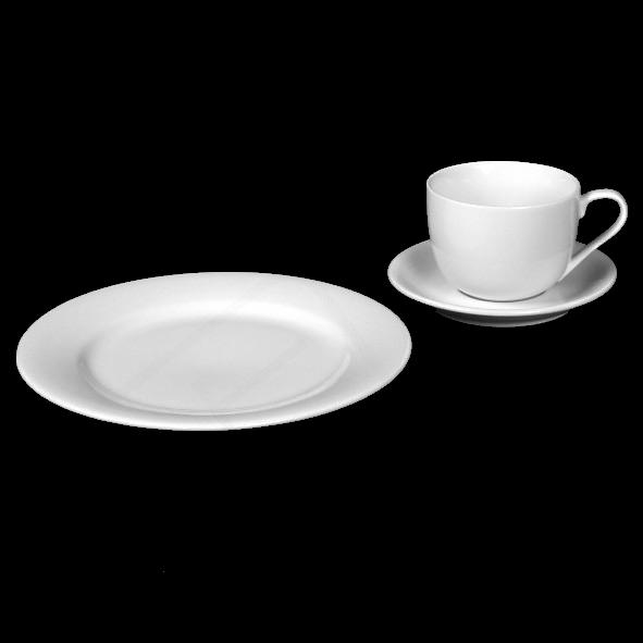 """Kaffeegedeck """"Emilia"""" & """"Vital Level"""" 3-tlg."""