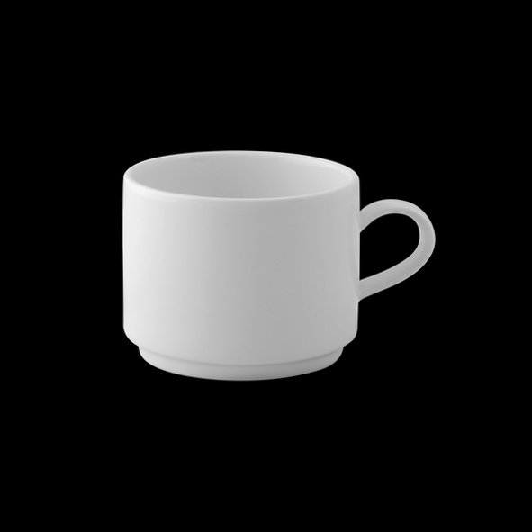 """Kaffee/Cappuccinotasse """"Universa"""" 0,20 l stapelbar"""