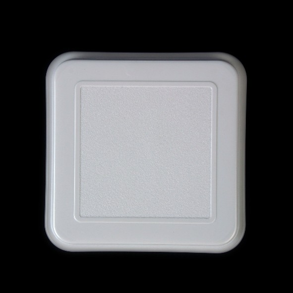 Deckel f. Schale quadratisch 14 cm grau