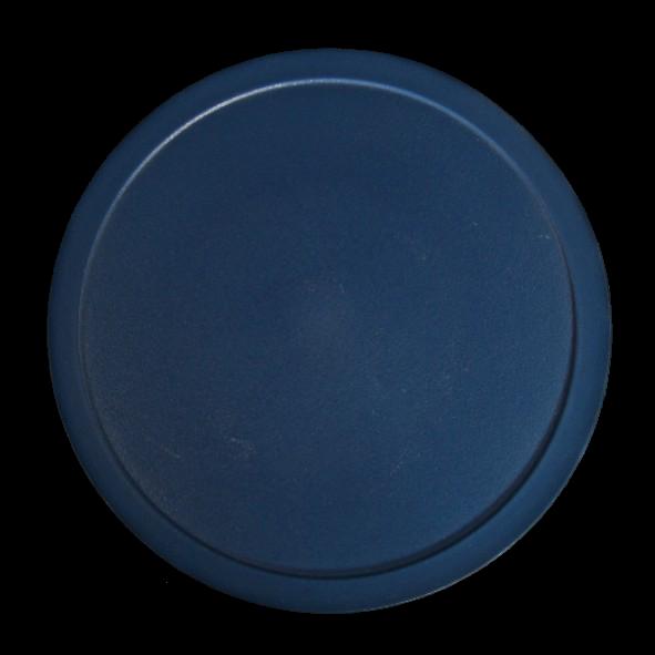 Kunststoffdeckel blau für Schale rund 0,45 l