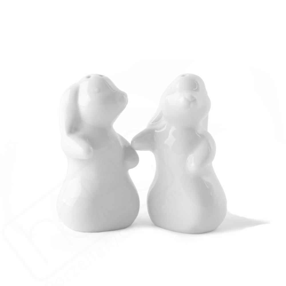 Salt cellar and pepper pot ''Love Bunny''