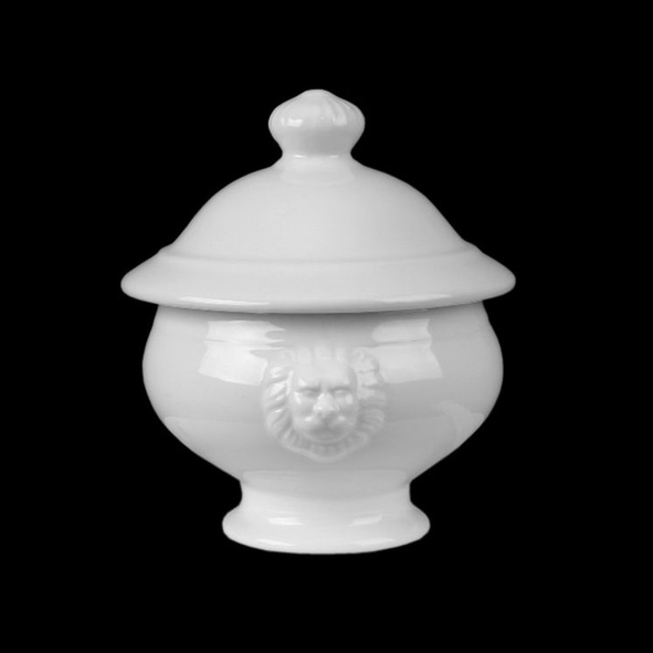 Lion head Bowl with lid 0,50 l