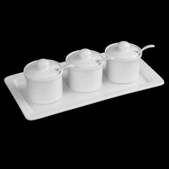 Modul-Set Jam pots with spoons 4-pcs.