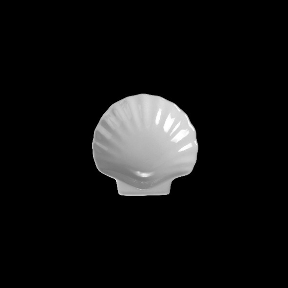 Shell shaped dish 7 cm