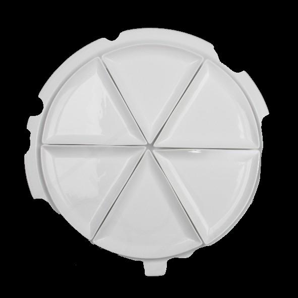 """Pizzaplatte """"Pezzo"""" 7-tlg."""