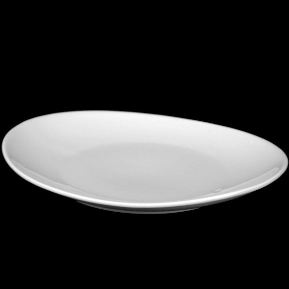 """Teller & Speisenplatte oval 35 cm """"Ovali"""" (**)"""