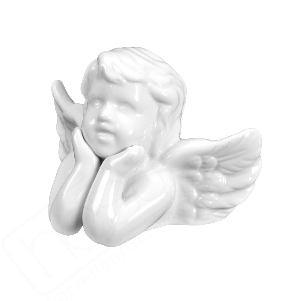"""Porzellanfigur Engel """"Träumer"""""""