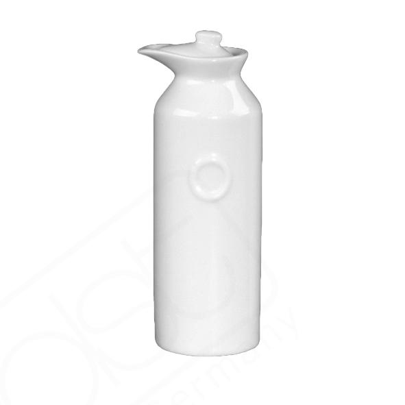 """Porzellanflasche mit Prägung """"O"""
