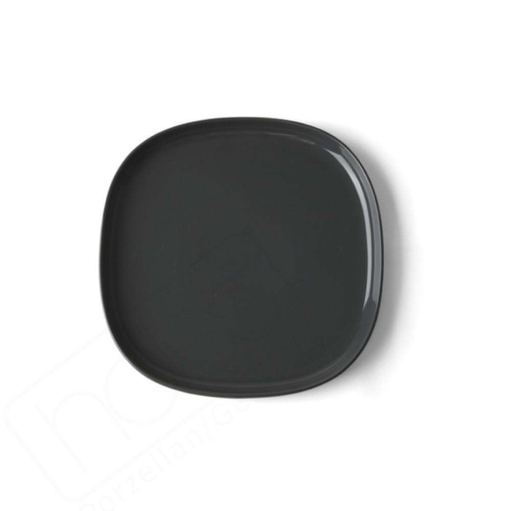 Flat plate 18 x 18 cm ''Skagen'' grey