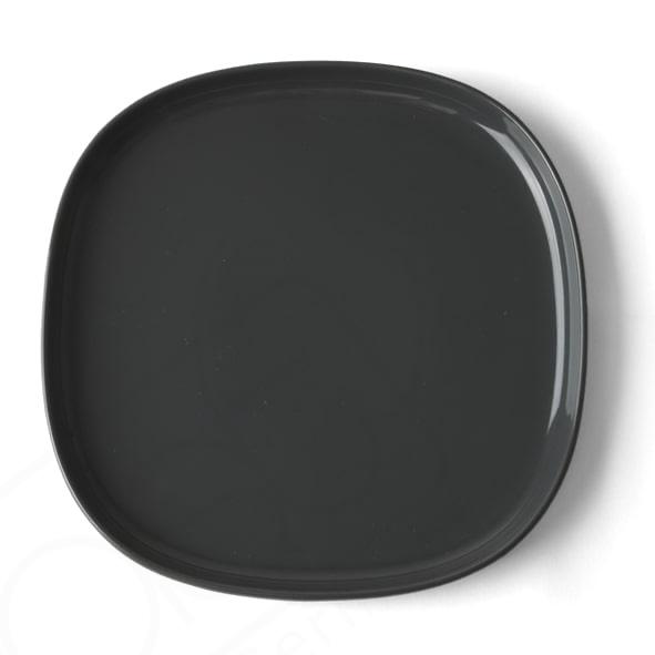 Flat plate 30 x 30 cm ''Skagen'' grey