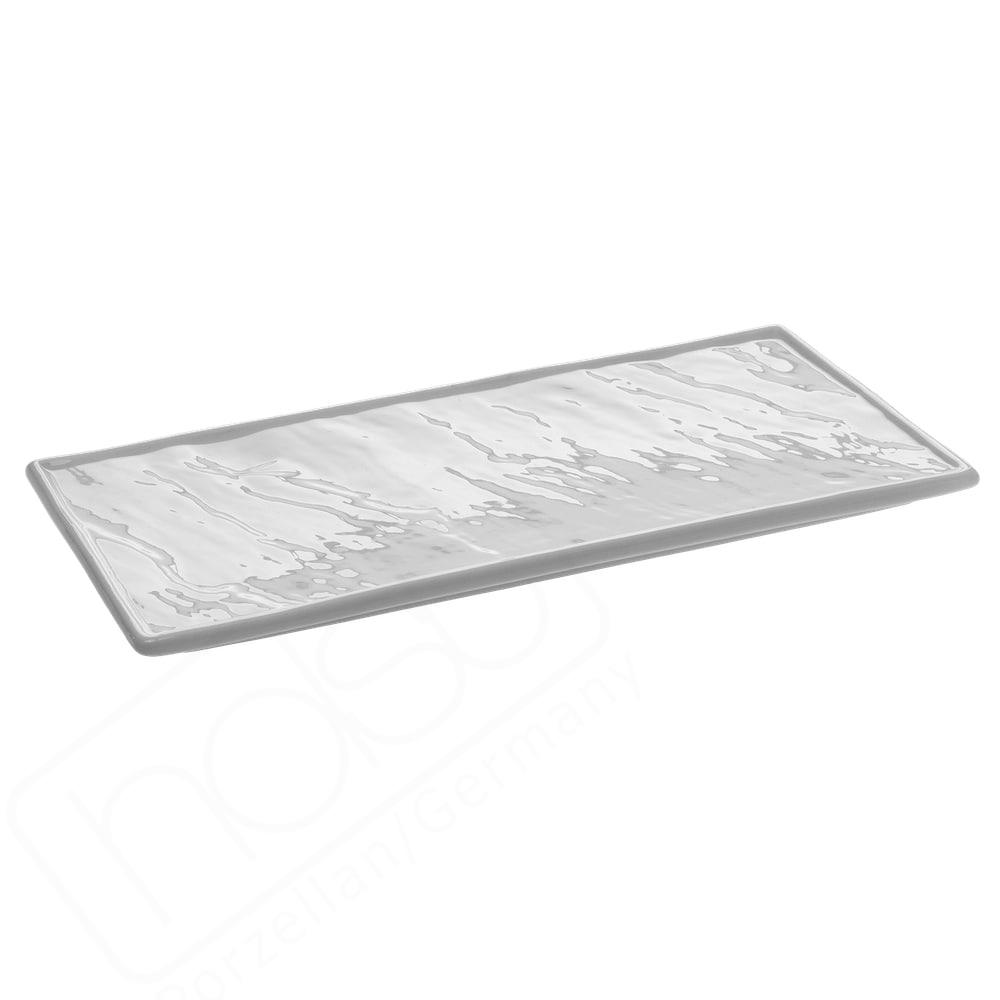 """Dekoplatte """"Naturstein"""" weiß 26 x 12 cm"""
