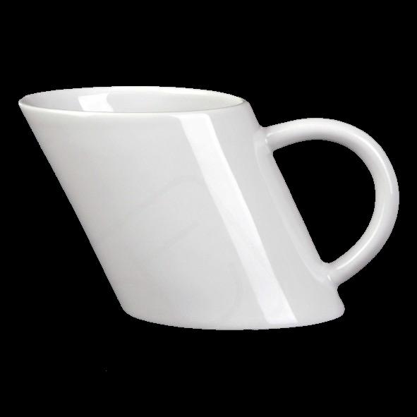 Schrägbecher 0,33 l ''crazy mug''