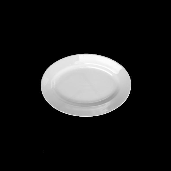 "Platte oval 23 x 15 cm ""Italy"" tief"