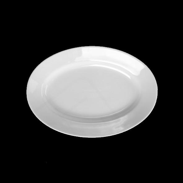 "Platte oval 30 x 21 cm ""Italy"" tief"