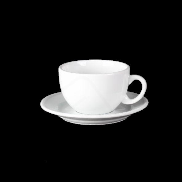 """Milchkaffeetasse 0,35 l """"Palermo"""" auf Untere UTT"""