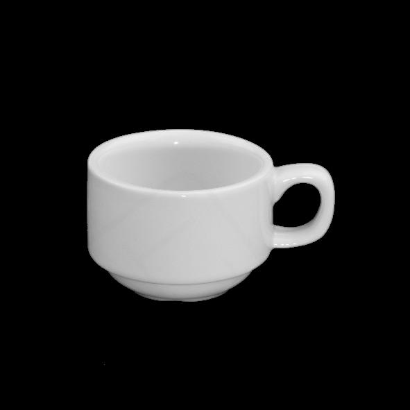 "Mokka/Espressotasse ""Catering"" 0,08 l stapelbar"