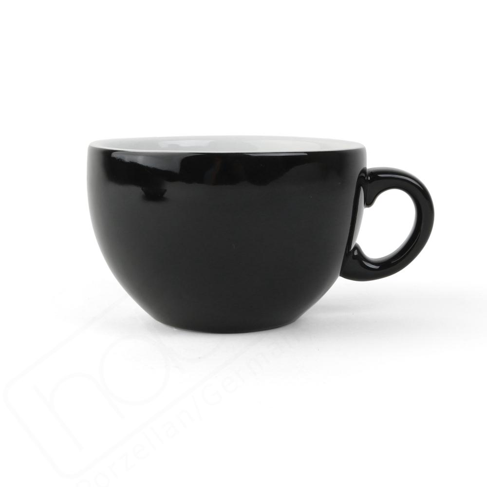 """Milchkaffeetasse """"Palermo"""" 0,35 l schwarz"""