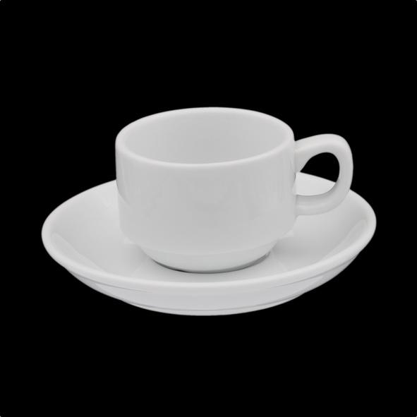 Vorteilspack Espressotassen stapelbar 48-teilig
