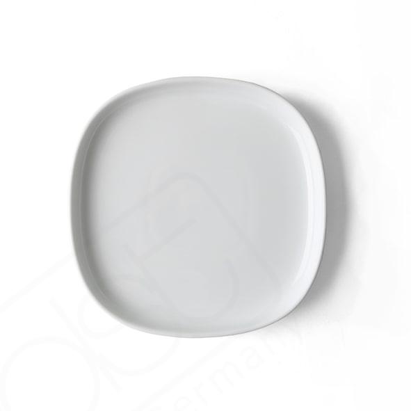 Flat plate 22 x 22 cm ''Skagen'' white