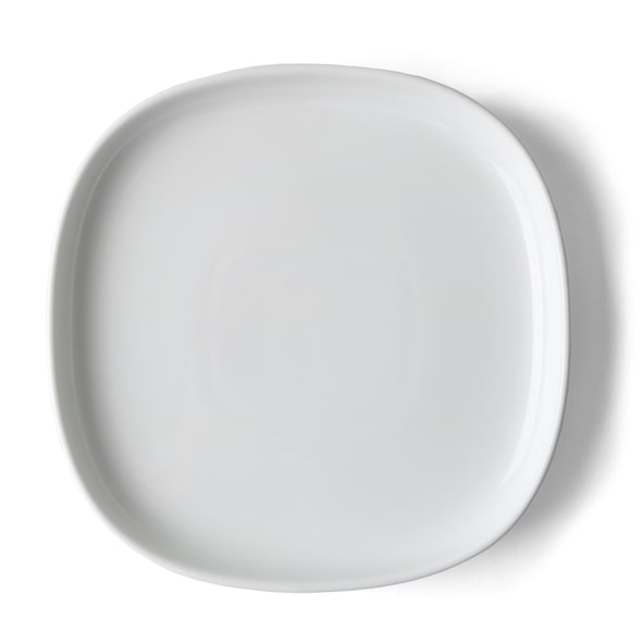 Flat plate 30 x 30 cm ''Skagen'' white
