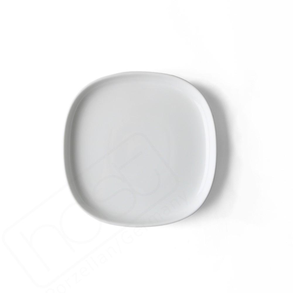Flat plate 18 x18 cm ''Skagen'' white