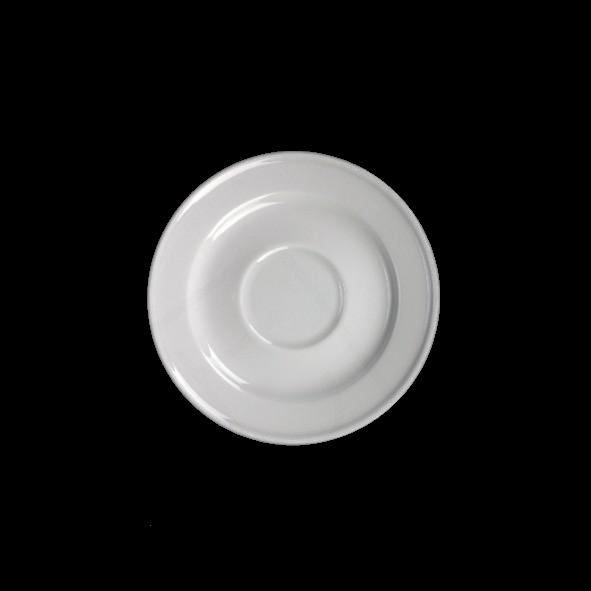 Untertasse 11 cm Form Stabrand, Spiegel 3,8 cm (**)
