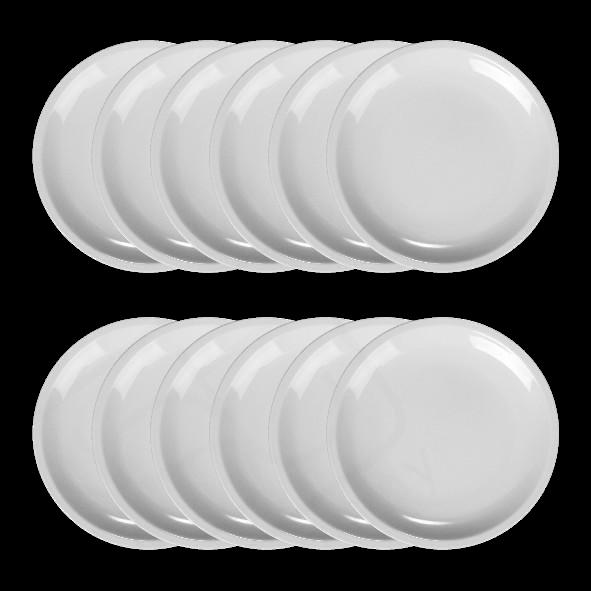Vorteilspack 12er Set Dessertteller 19 cm