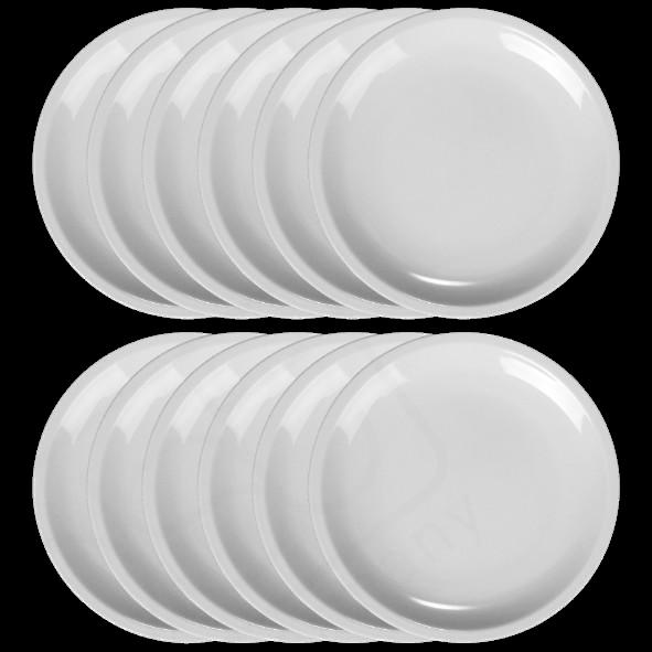 Vorteilspack 12er Set Speiseteller 26 cm