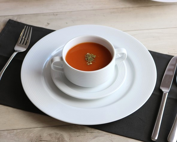 "Kaffeetasse stapelbar 0,22 l Reliefform ""Paris"""
