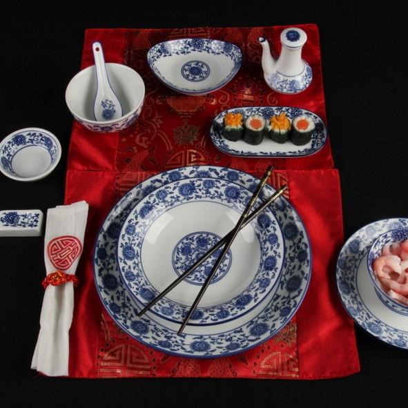 """Chinalöffel 13 x 4 cm """"Qing Hua Ci"""""""