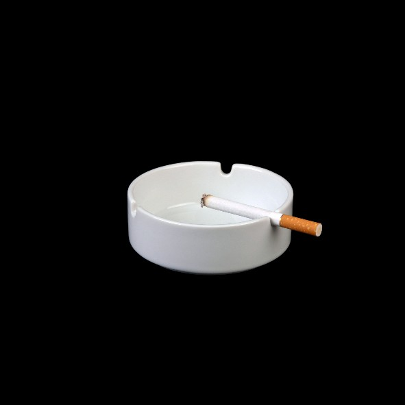 Stapelaschenbecher  9 cm, Klassik rund