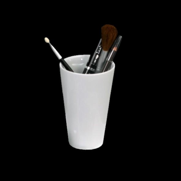 Kosmetik- & Zahnputzbecher 13 cm (**)
