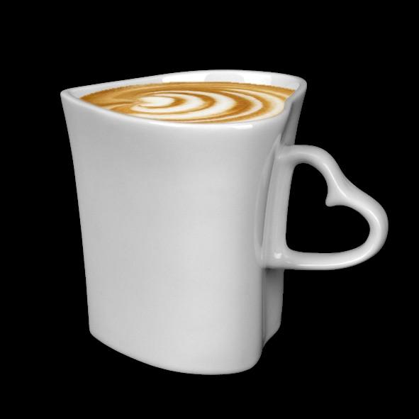 Heart shaped mug 0,35 l