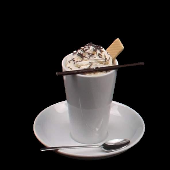 Eiskaffee Becher 0,36 l auf Untere UTA