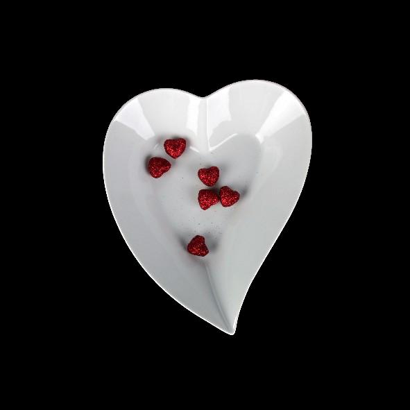 Heart shaped bowl 25 cm