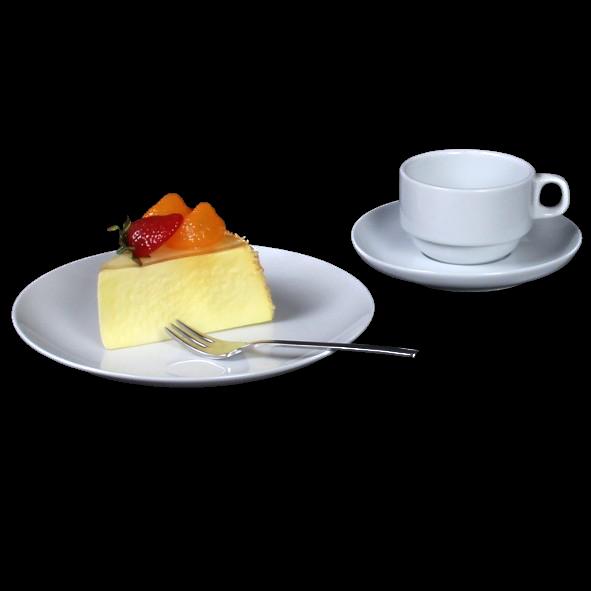 "Kaffeegedeck ""MA Catering"" 3-tlg. rund"